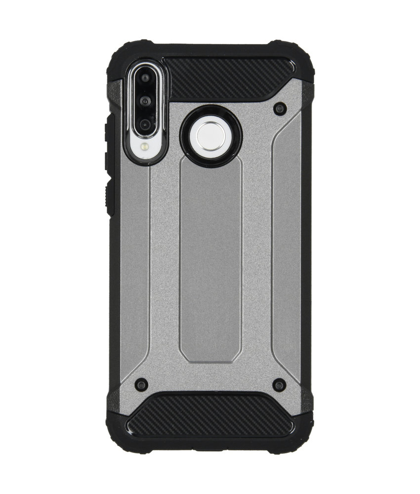 iMoshion Rugged Xtreme Backcover Huawei P30 Lite - Grijs