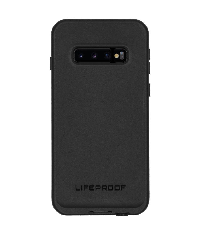 LifeProof FRĒ Backcover Samsung Galaxy S10 - Zwart