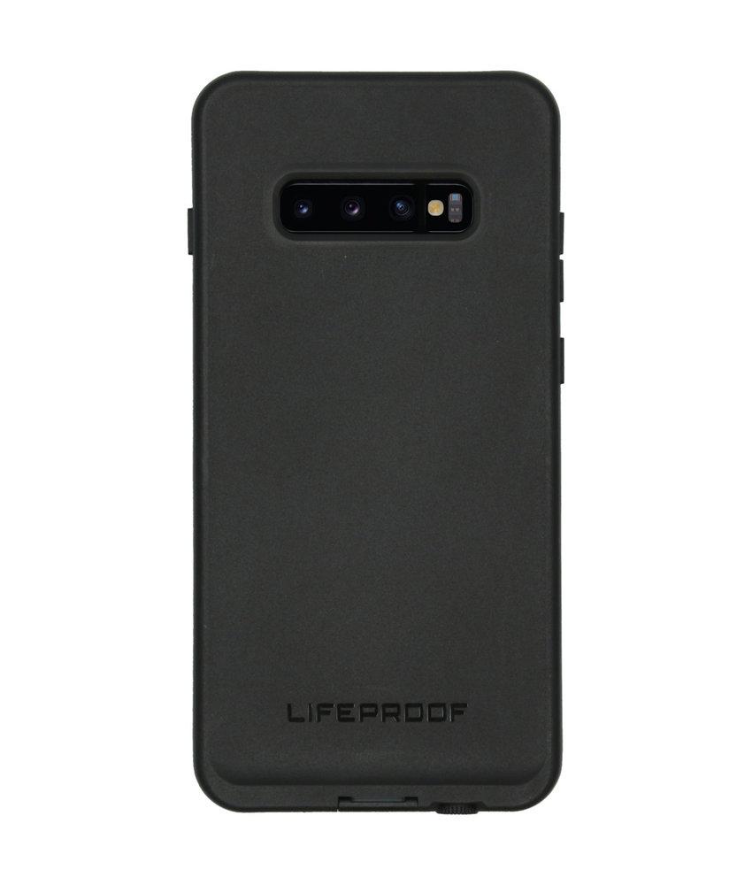 LifeProof FRĒ Backcover Samsung Galaxy S10 Plus - Zwart