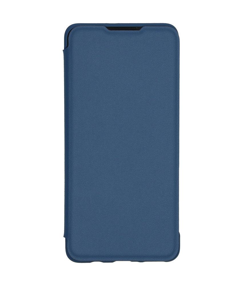 Huawei Wallet Booktype Huawei P30 Lite - Blauw