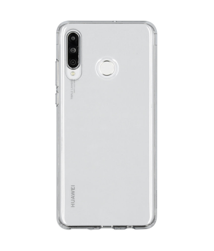 Huawei Soft Clear Backcover P30 Lite - Transparant