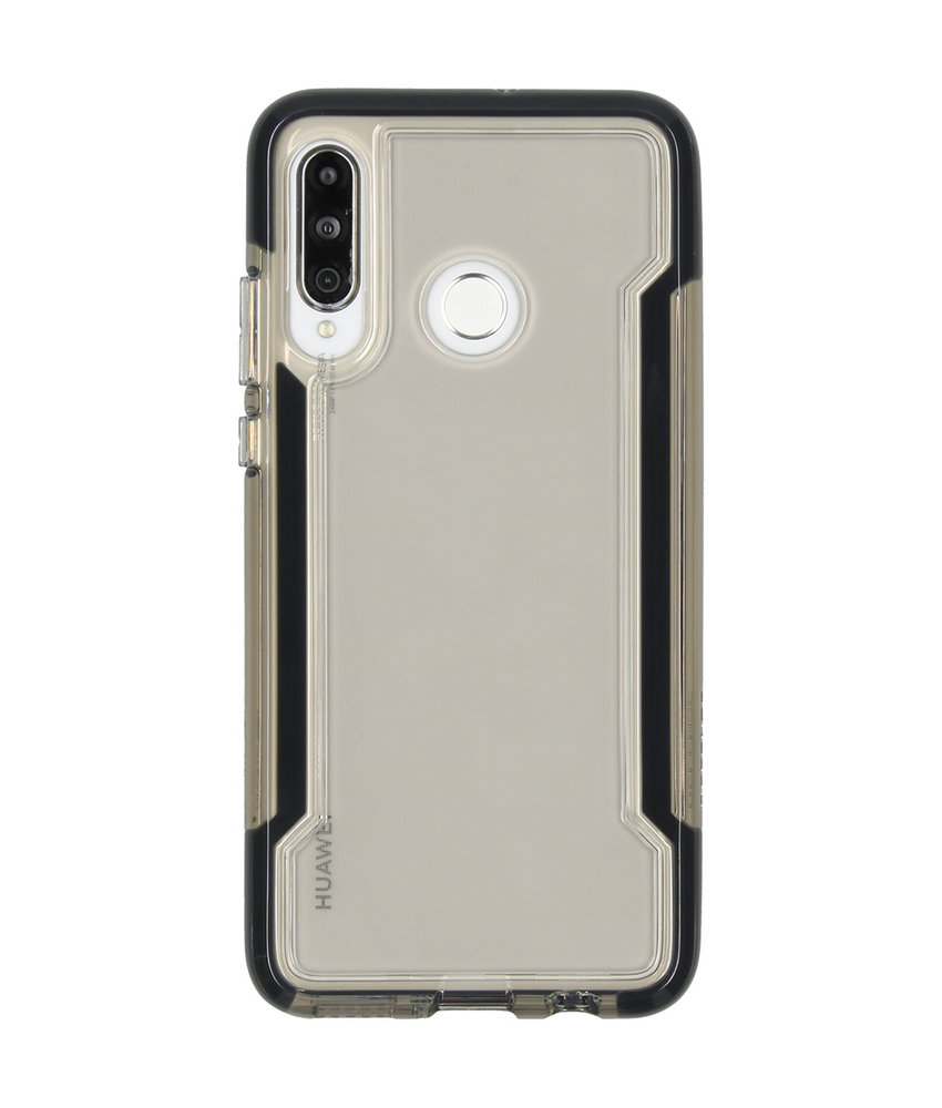 X-Doria Defense Clear Backcover Huawei P30 Lite - Zwart
