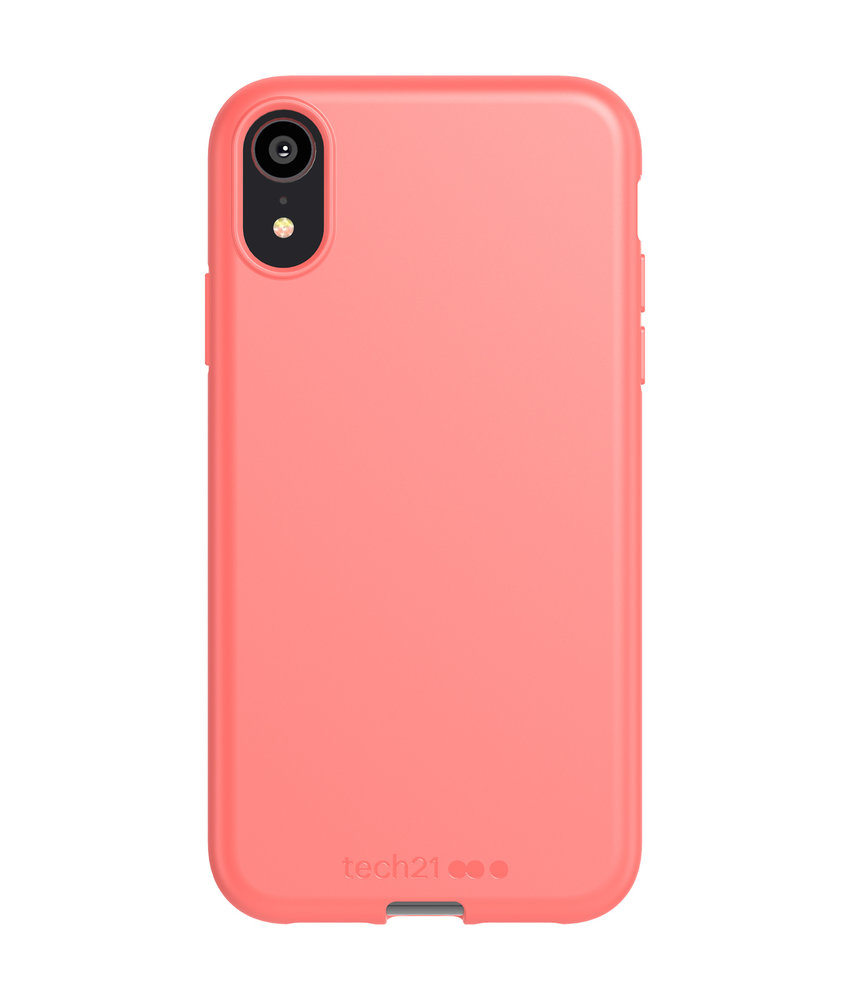 Studio Colour Antimicrobial Backcover iPhone Xr - Coral My World