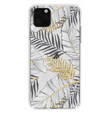 Design Backcover voor de iPhone 11 Pro Max - Glamour Botanic