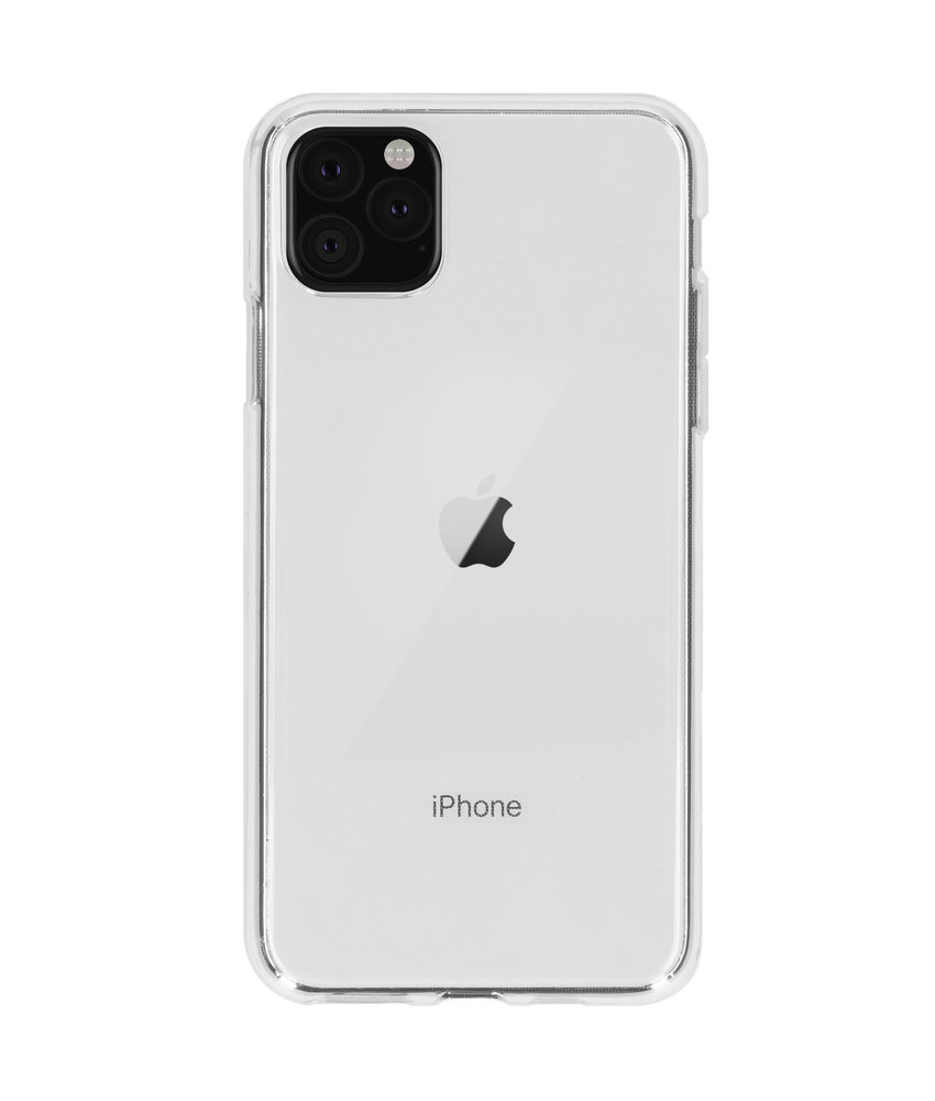 Softcase Backcover iPhone 11 Pro Max - Transparant