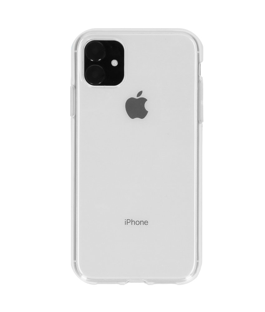 Softcase Backcover iPhone 11 - Transparant