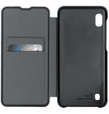 Samsung Flip Wallet Booktype voor de Samsung Galaxy A10 - Zwart