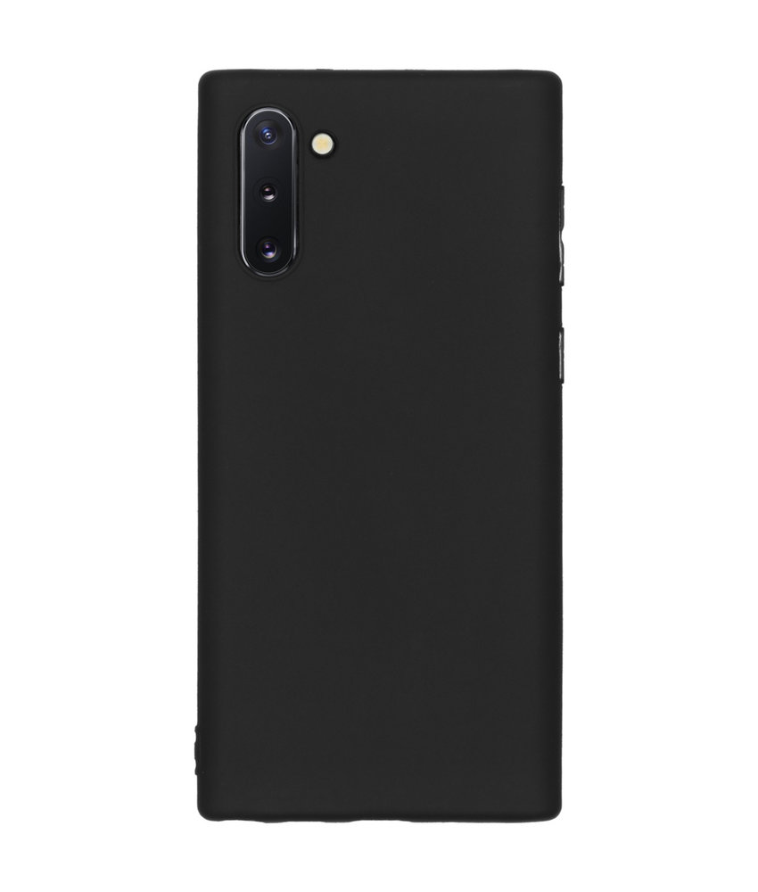 Color Backcover Samsung Galaxy Note 10 - Zwart