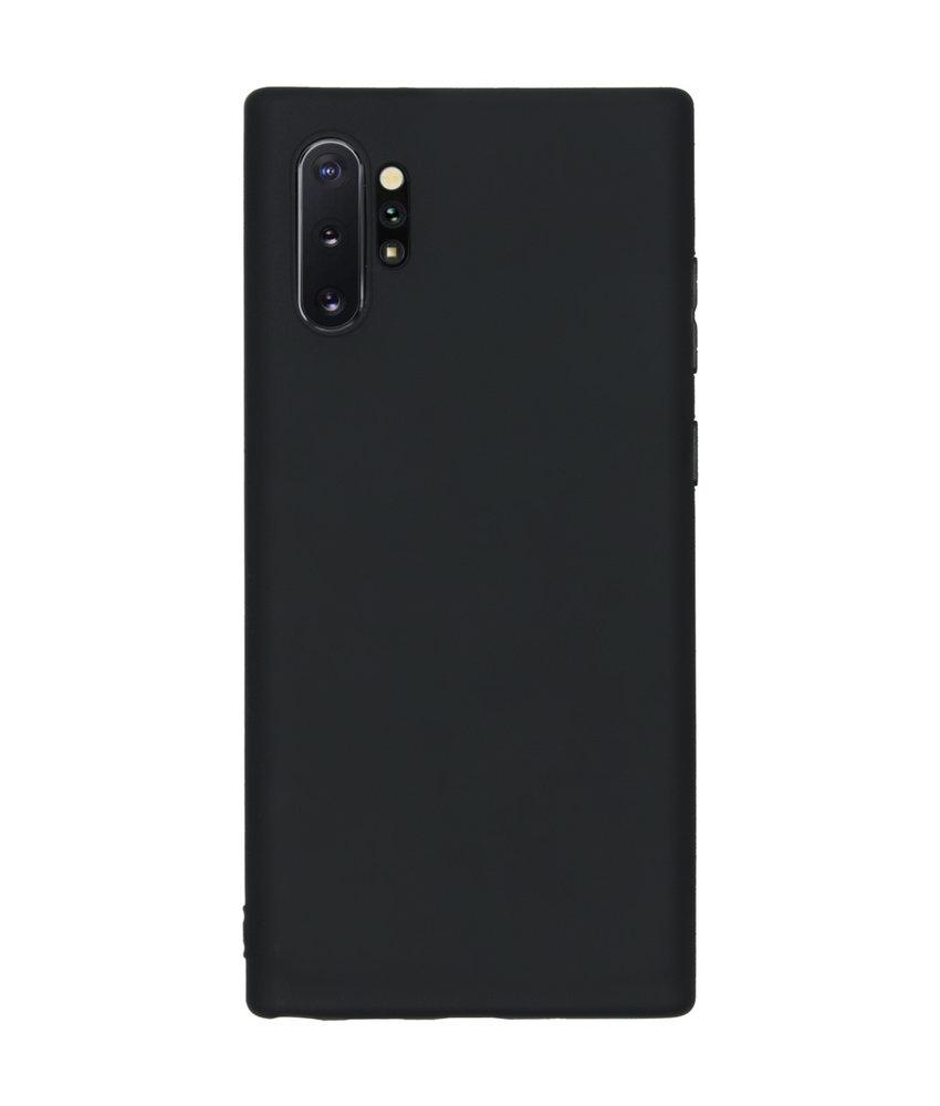 Color Backcover Samsung Galaxy Note 10 Plus - Zwart