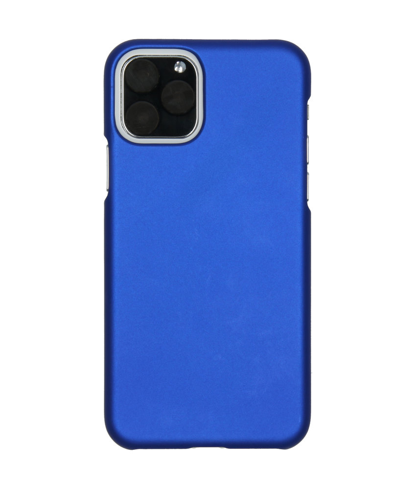Effen Backcover iPhone 11 Pro - Blauw