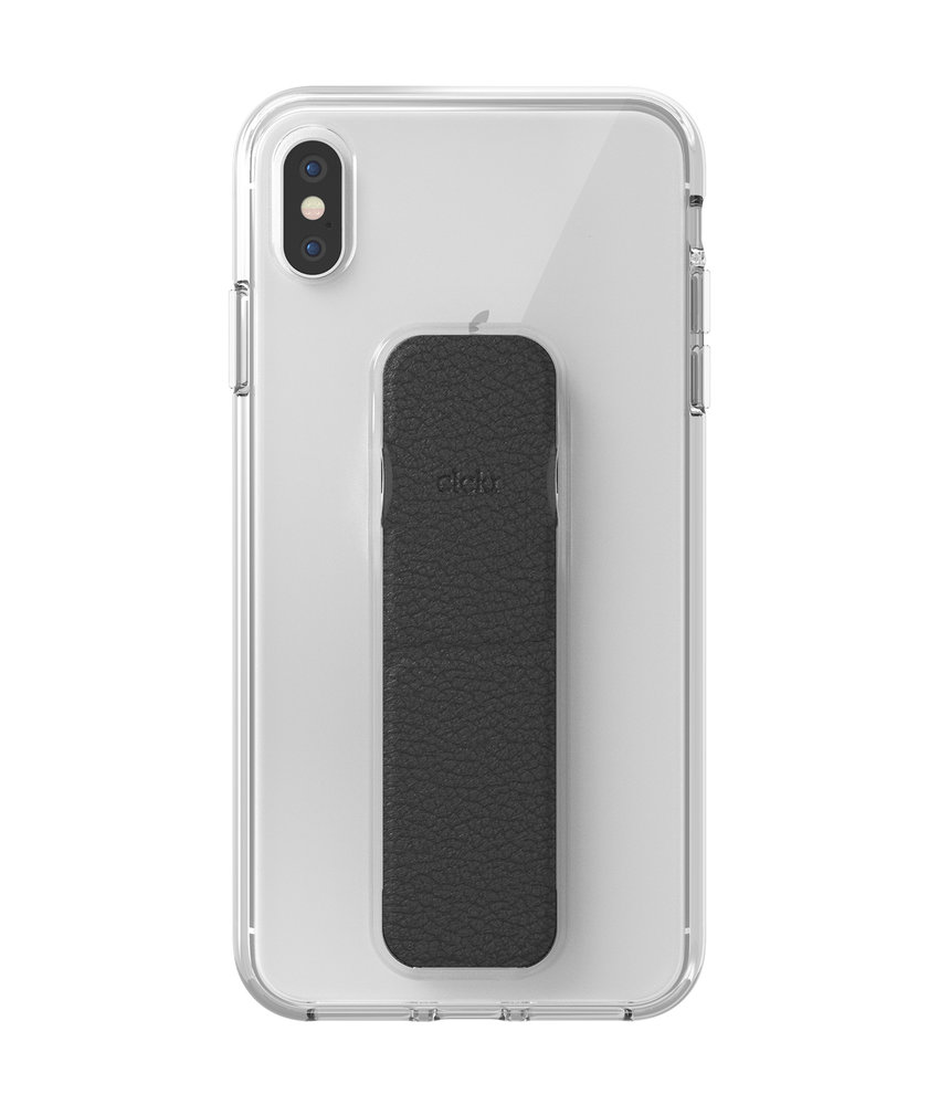 Clckr Gripcase Foundation iPhone Xs Max - Transparant
