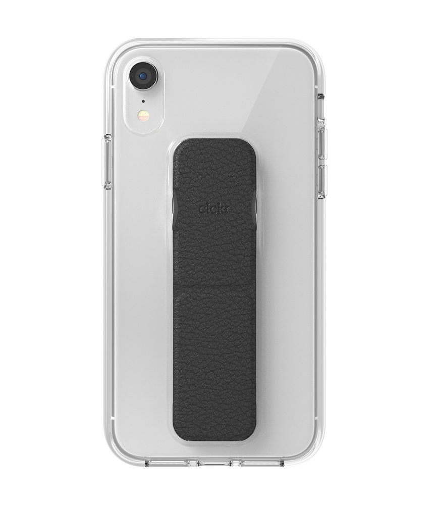 Clckr Gripcase Foundation iPhone Xr - Transparant