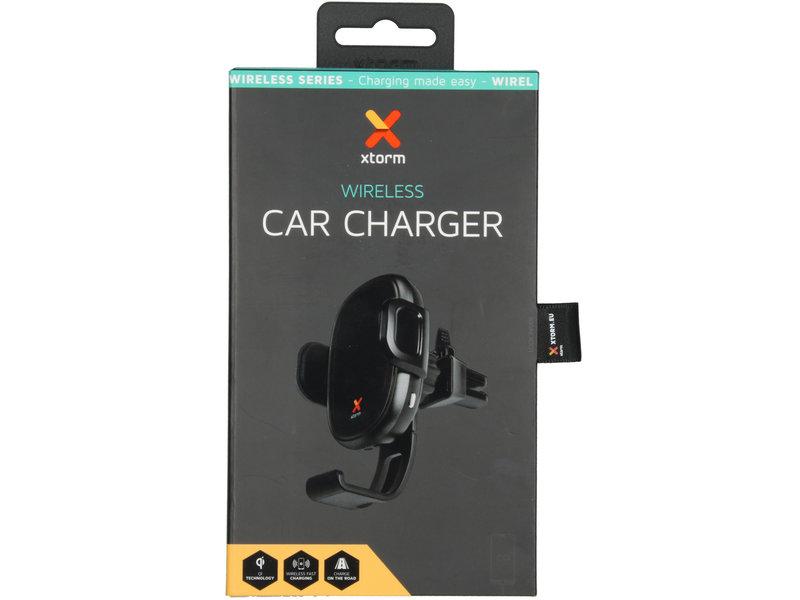 Xtorm Wireless Series - Wireless Car Charger - Zwart