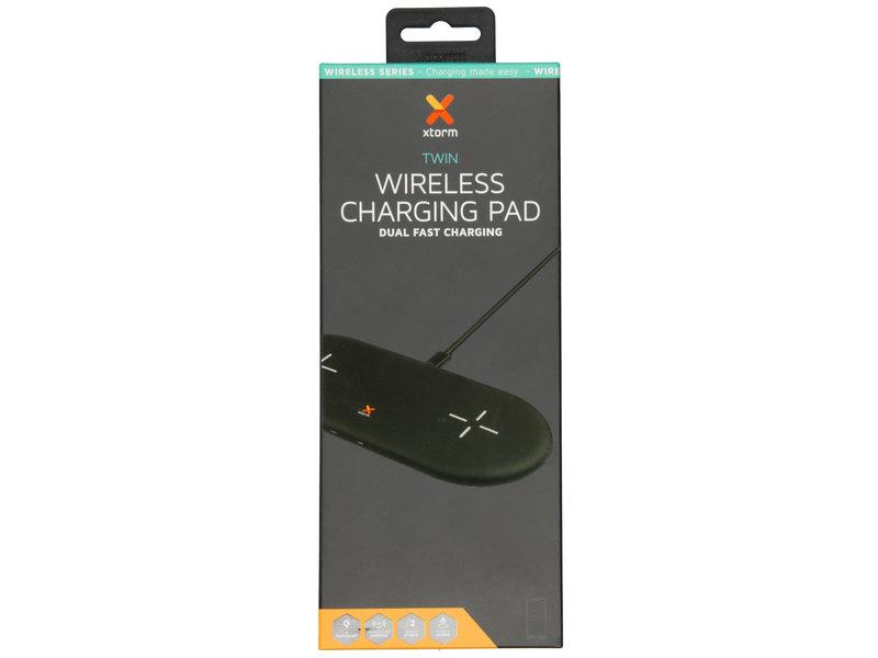 Xtorm Wireless Series - Twin Wireless Charging Pad