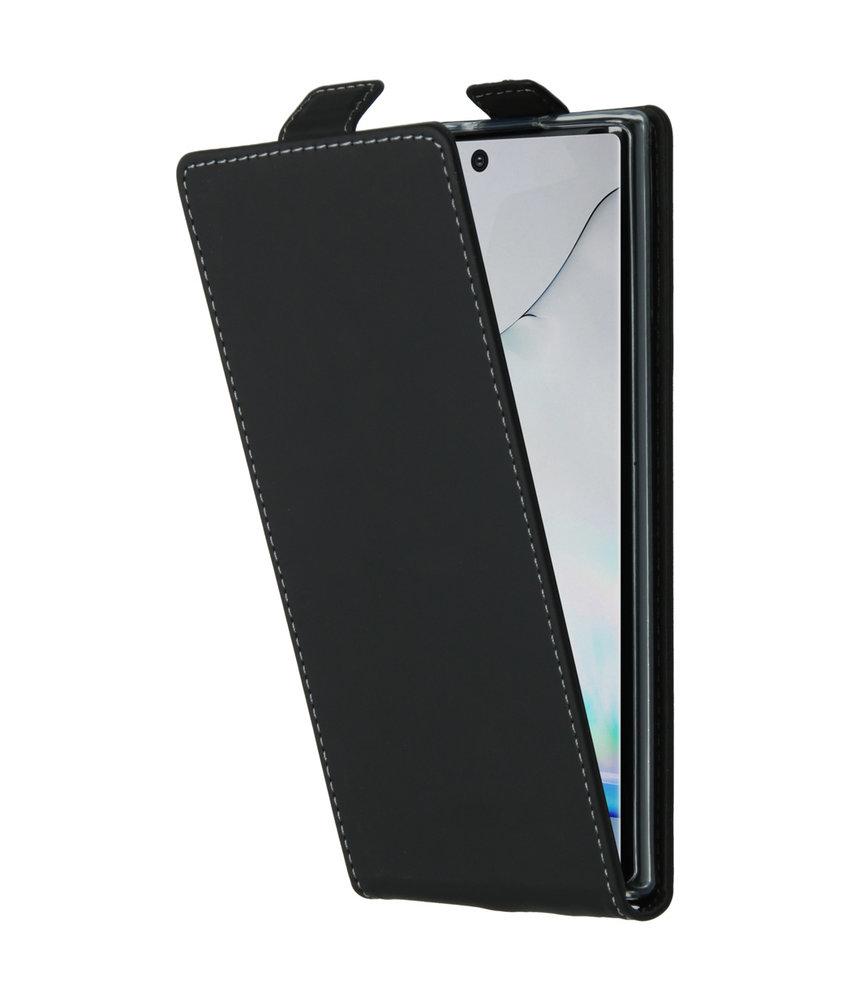 Accezz Flipcase Samsung Galaxy Note 10 - Zwart