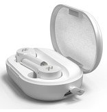 iFrogz AirTime Pro Wireless Earbuds met oplaadcase - Wit