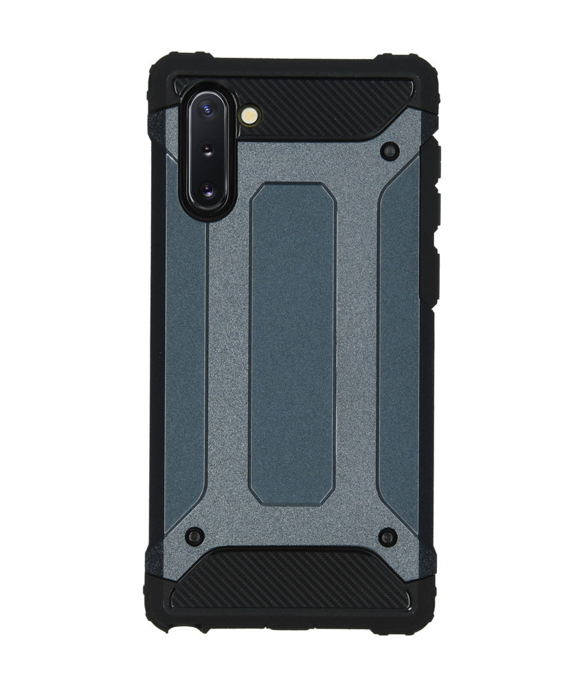 iMoshion Rugged Xtreme Backcover Samsung Galaxy Note 10 - Donkerblauw