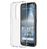 Nokia Clear Backcover voor de Nokia 4.2 - Transparant