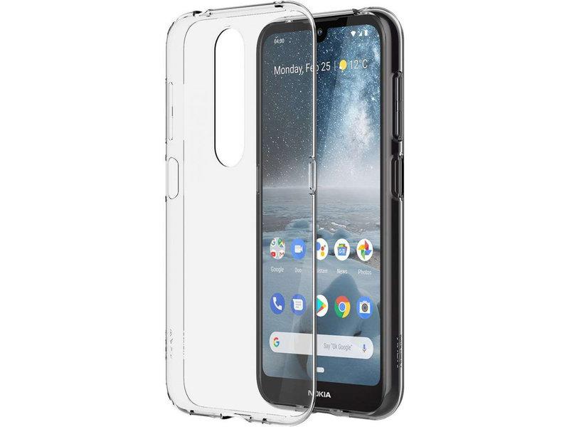 Nokia 4.2 hoesje - Nokia Clear Backcover voor