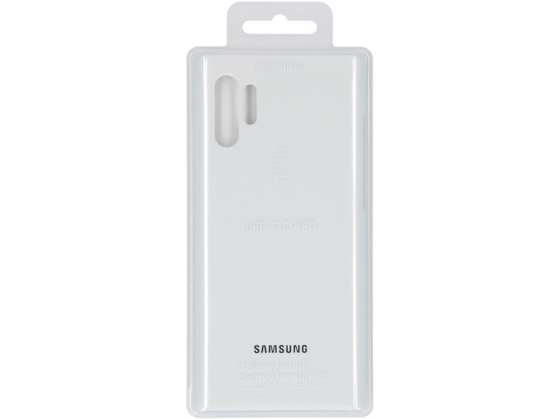 Samsung Galaxy Note 10 Plus hoesje - Samsung LED Backcover voor