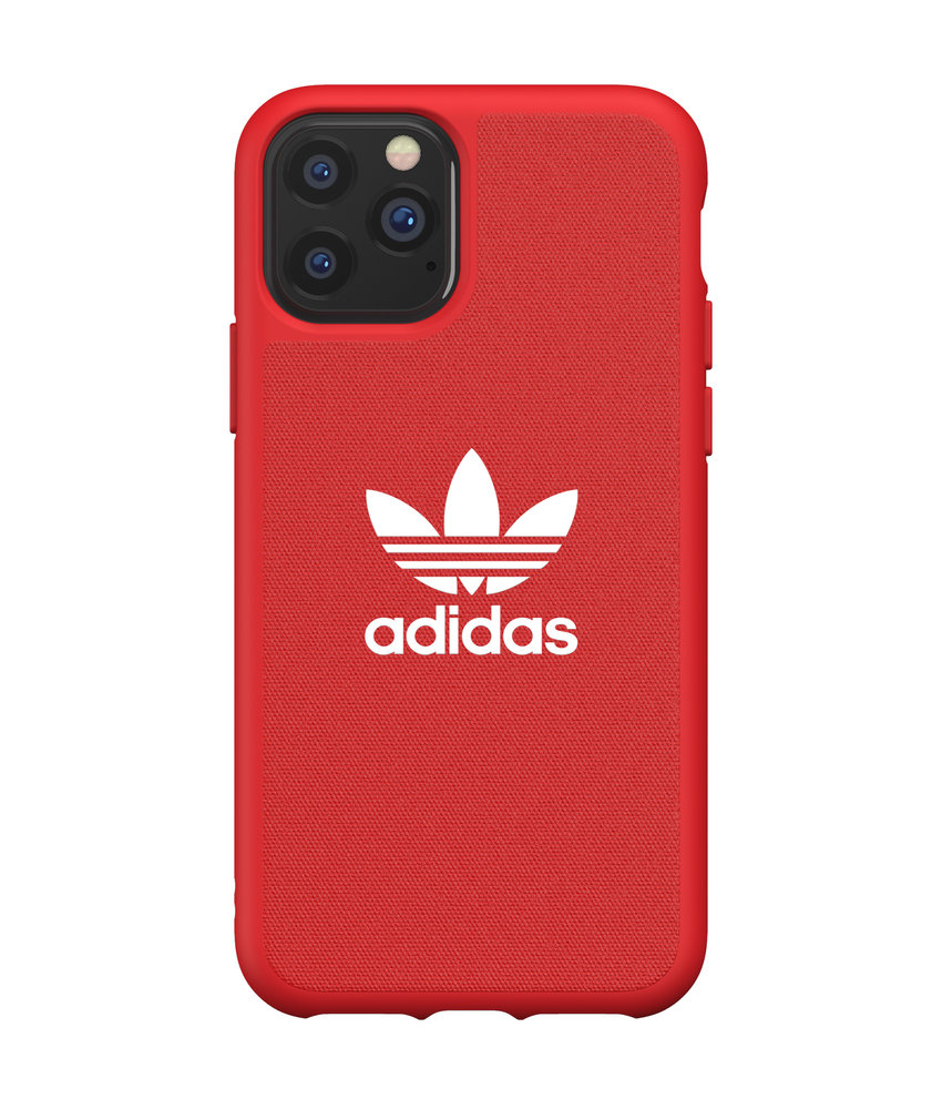 adidas Originals Adicolor Backcover iPhone 11 Pro - Rood
