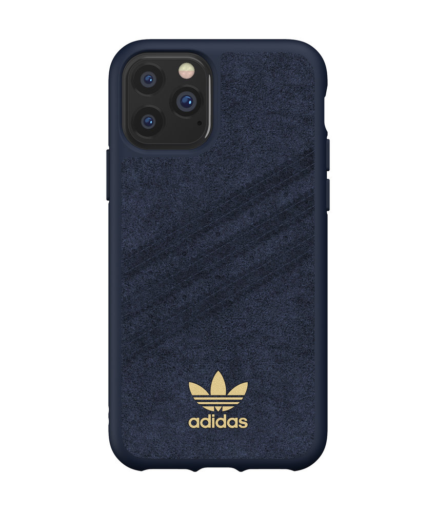 adidas Originals Gazelle Premium Backcover iPhone 11 Pro - Blauw