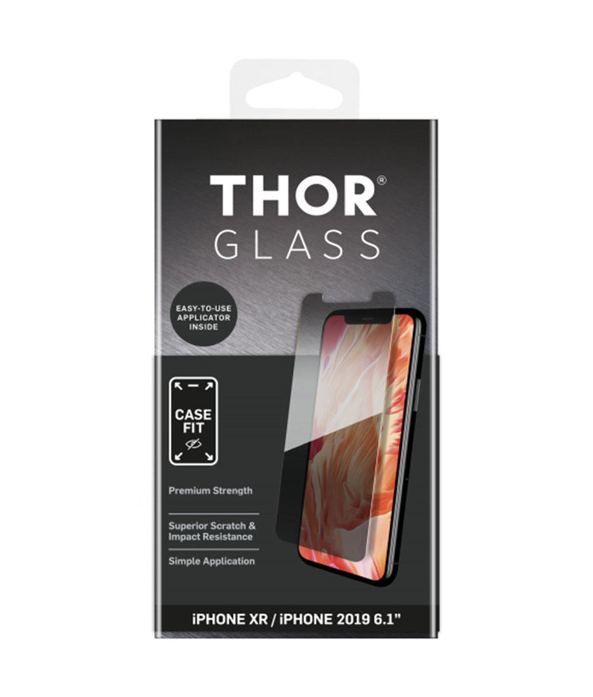 THOR Case-Fit Screenprotector + Easy Apply iPhone 11 / iPhone Xr