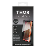 THOR Case-Fit Privacy Screenprotector + Easy Apply Frame voor de iPhone 11 / iPhone Xr