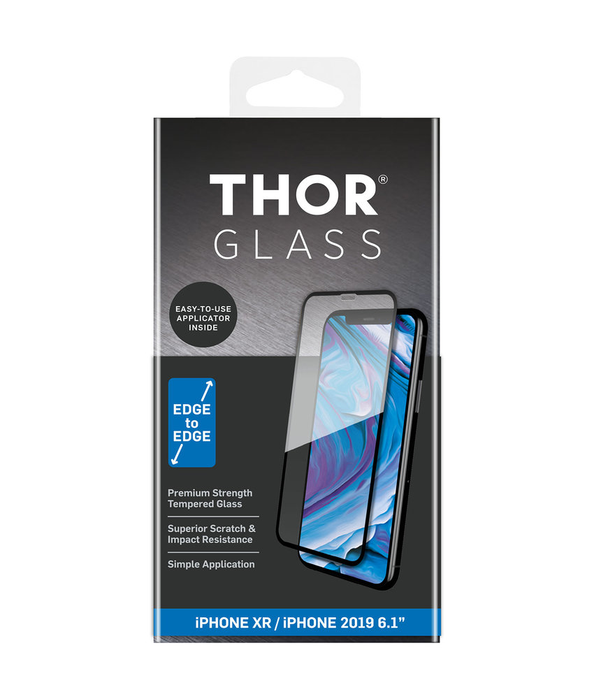THOR Full Screenprotector + Apply Frame iPhone 11 / iPhone Xr