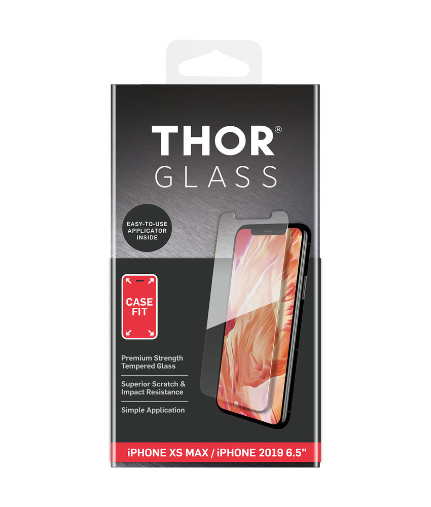 THOR Case-Fit Screenprotector iPhone 11 Pro Max / iPhone Xs Max