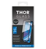 THOR Full Screenprotector + Apply Frame voor de iPhone 11 Pro / Xs / X - Zwart