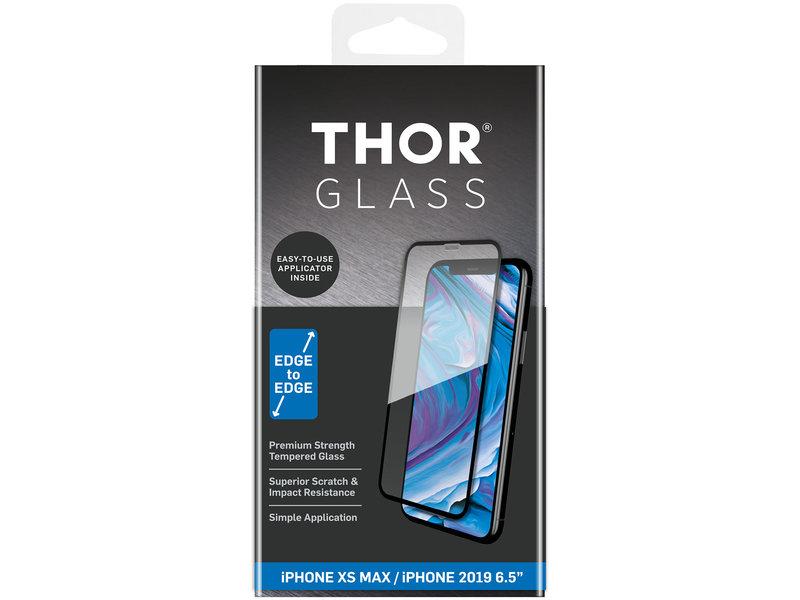 THOR Full Screenprotector + Apply Frame voor de iPhone 11 Pro Max / iPhone Xs Max - Zwart