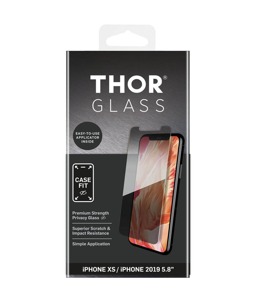 THOR Case-Fit Privacy Screenprotector iPhone 11 Pro / Xs / X