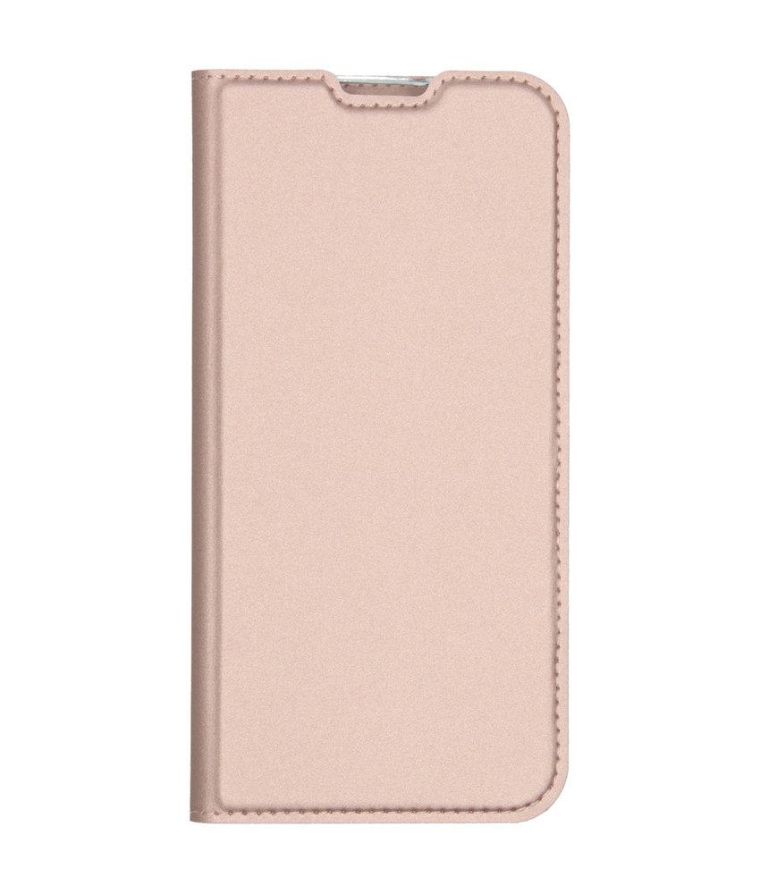 Dux Ducis Slim Softcase Booktype Huawei Mate 30 Lite - Rosé Goud