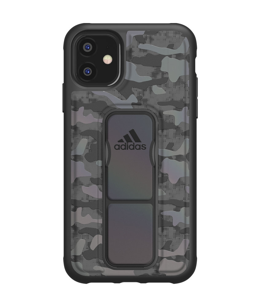adidas Sports Grip Backcover iPhone 11 - Zwart