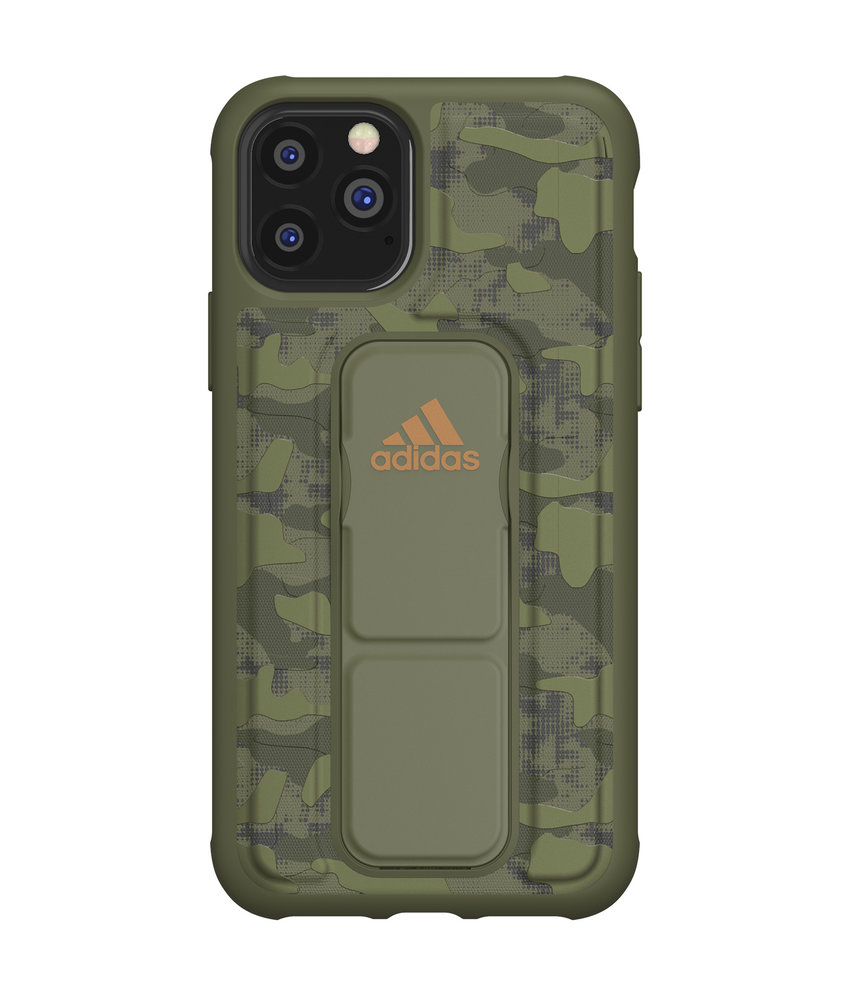 adidas Sports Grip Backcover iPhone 11 Pro - Groen