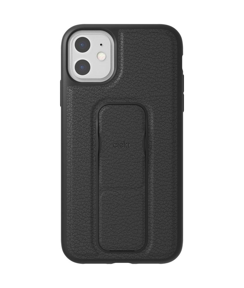 Clckr Gripcase Foundation iPhone 11 - Zwart