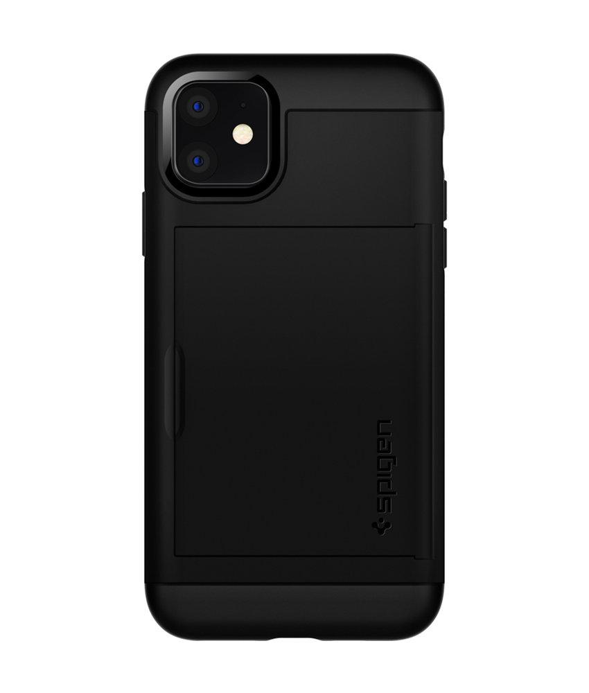 Spigen Slim Armor CS Backcover iPhone 11 - Zwart