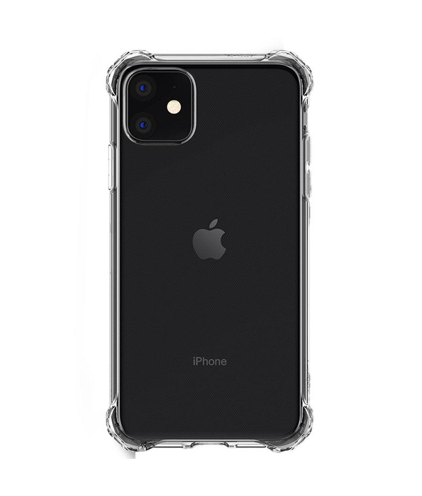 Spigen Rugged Crystal Backcover iPhone 11 - Transparant