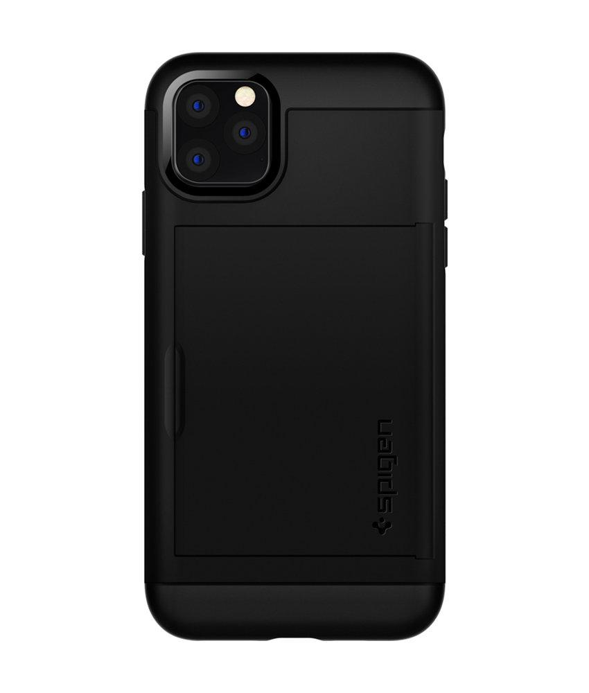 Spigen Slim Armor CS Backcover iPhone 11 Pro Max - Zwart