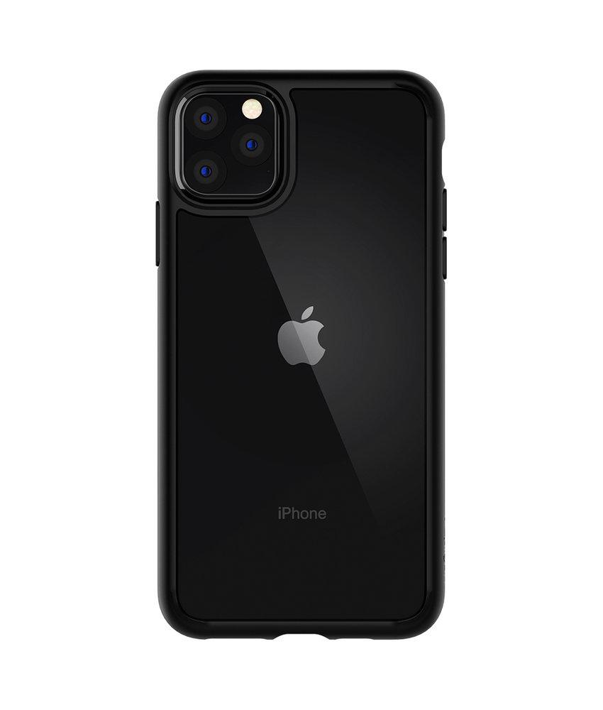 Spigen Ultra Hybrid Backcover iPhone 11 Pro Max - Zwart