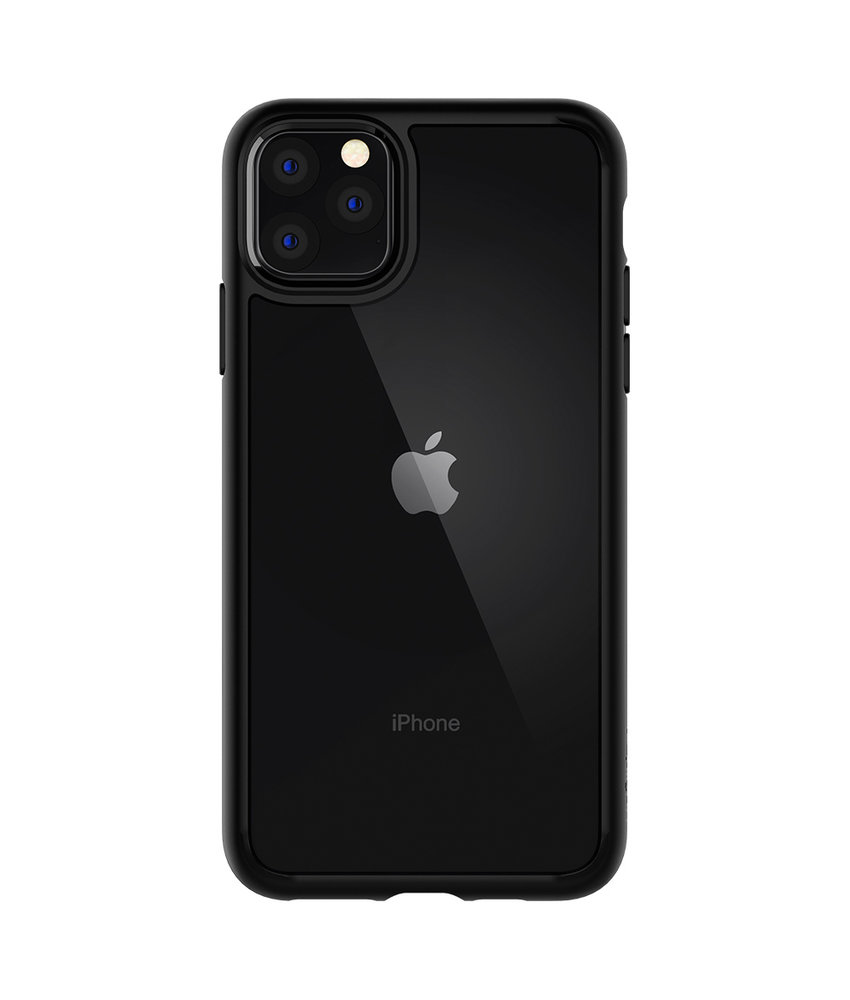 Spigen Ultra Hybrid Backcover iPhone 11 Pro - Zwart