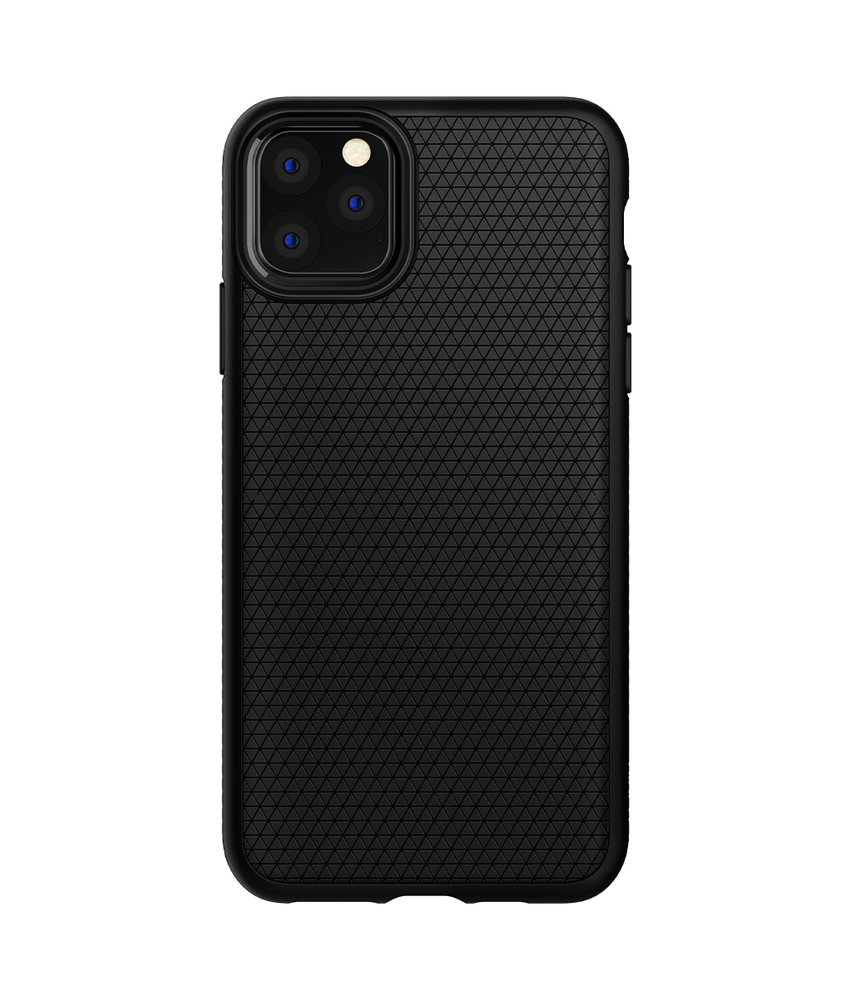 Spigen Liquid Air Backcover iPhone 11 Pro - Zwart