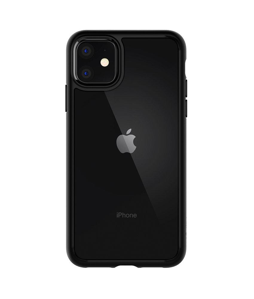 Spigen Ultra Hybrid Backcover iPhone 11 - Zwart