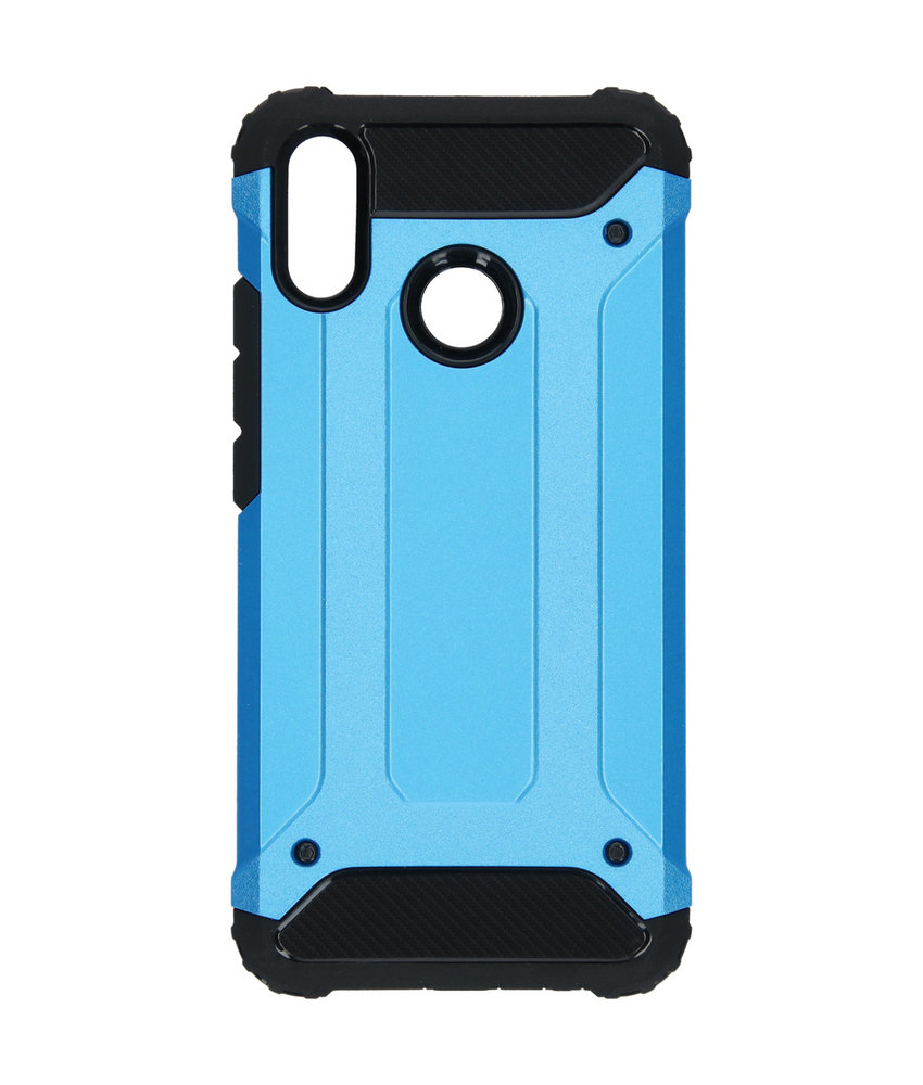 iMoshion Rugged Xtreme Backcover Huawei P Smart Plus - Lichtblauw