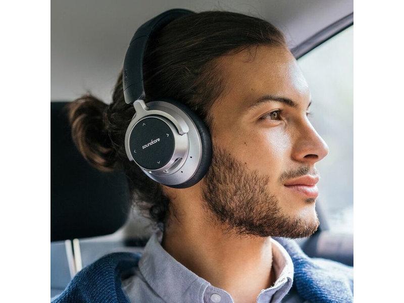 Anker Soundcore Space NC Wireless Headphones - Zwart