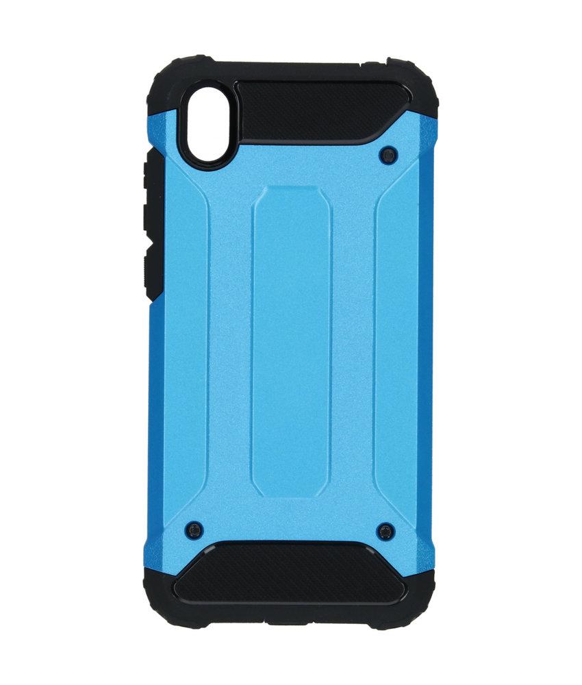 iMoshion Rugged Xtreme Backcover Huawei Y5 (2019) - Lichtblauw