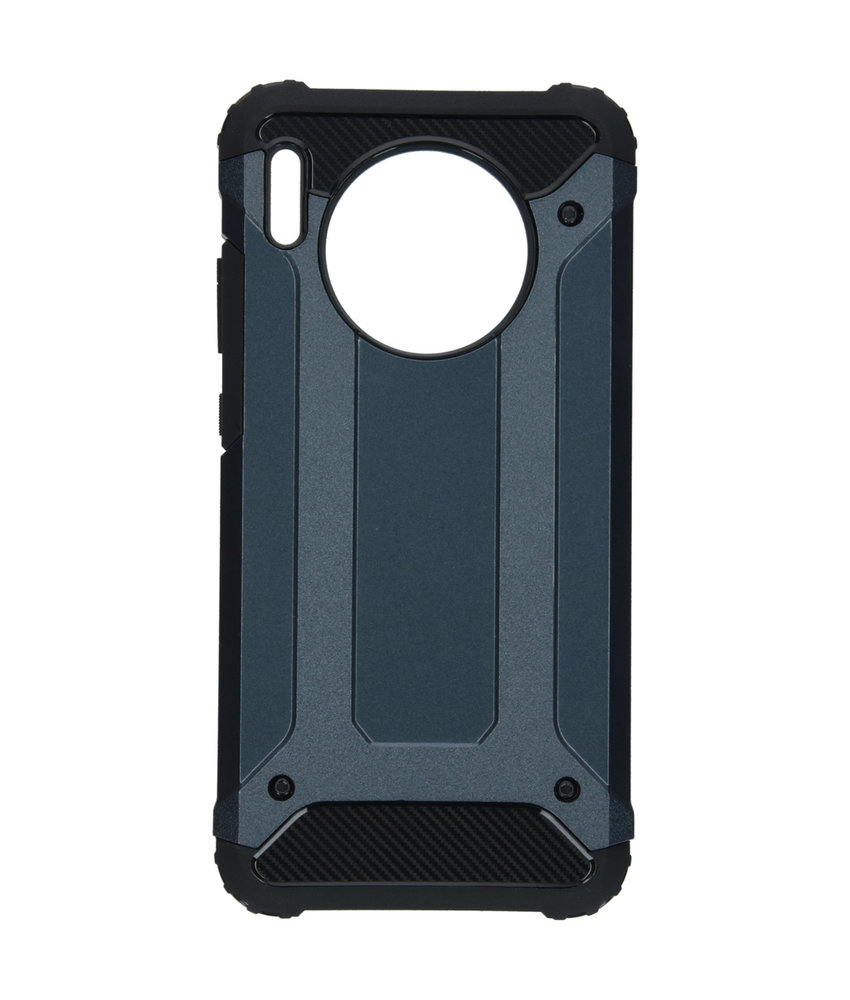iMoshion Rugged Xtreme Backcover Huawei Mate 30 - Donkerblauw
