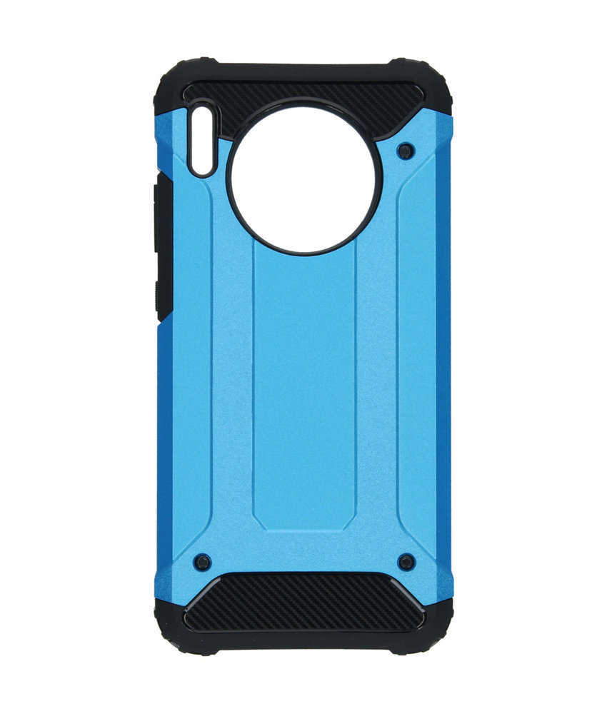 iMoshion Rugged Xtreme Backcover Huawei Mate 30 - Lichtblauw