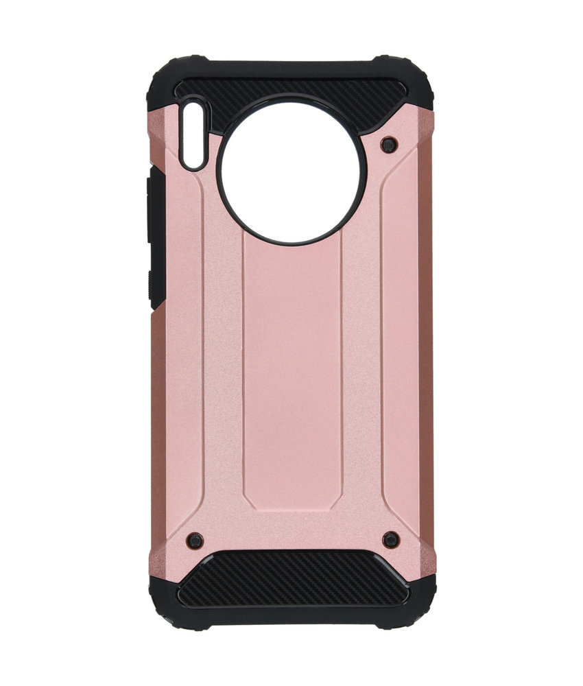 iMoshion Rugged Xtreme Backcover Huawei Mate 30 - Rosé Goud